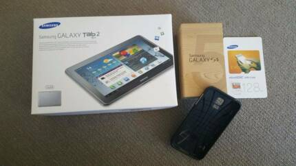Samsung Galaxy S5 16GB + Samsung Galaxy Tab 2 16GB Wifi + 3G Clarkson Wanneroo Area Preview