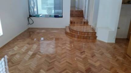 Professional Parquetry Installations, sand and polish
