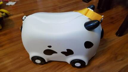 Cute Kids Cow travelling suitcase