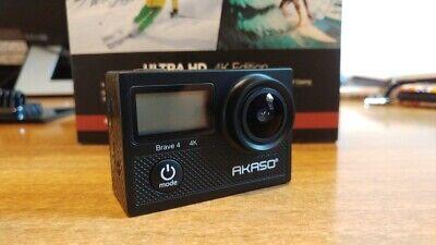 AKASO Action Cam 4K WiFi (Brave4) Fotocamera Subacquea 30m con 2 Batterie