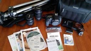 Canon 60D 18.1MP, 2x lenses, tripod, accessories | Good Cond. Labrador Gold Coast City Preview