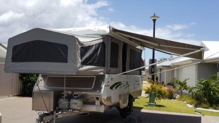 Goldstream Camper trailer caravan Off Road