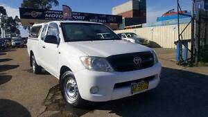 2007 Toyota Hilux Xtra Cab, 4 seats, Long body, Dual fuel#958 Condell Park Bankstown Area Preview