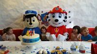 Paw Patrol Mascots for Rent