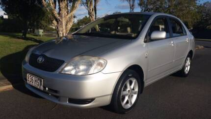 LOW KM 160000 2004 COROLLA SEDAN MANUAL PS COLD AC CD 3/18REGO RW