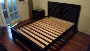 Matching Bed Frame, Bedside Tables and Tallboys Cammeray North Sydney Area Preview