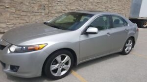 Acura TSX  with Paddle shift ( 90% tires )