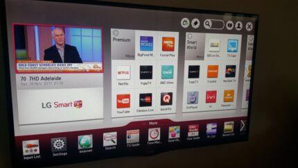 LG 42in full HD smart LED LCD tv