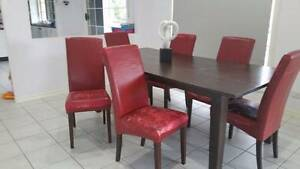 Need re-covering - Gorgeous Solid Wooden Chairs (only $10 each) Stafford Heights Brisbane North West Preview