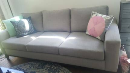 Custom built 3 seater couch