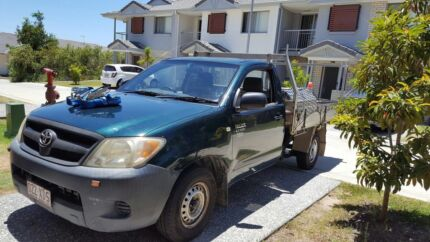 Toyota hilux 2005 5 speed manual great condition came with toll b