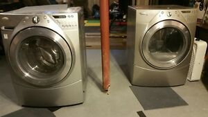 Whirlpool Washer + Dryer