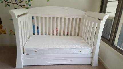 Elite Love n Care Baby Furniture Package (White)