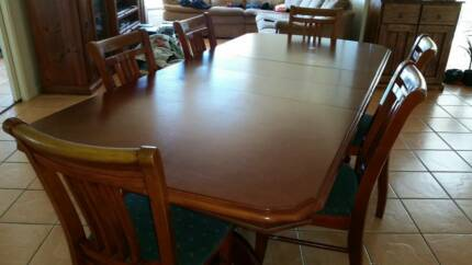 Solid Timber extendable dining set Dubbo 2830 Dubbo Area Preview