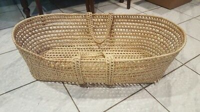 Baskets With Handles (MOSES BASKET/BABY/DOLL BASKET WITH)