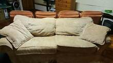 American Chesterfield Lounge/Sofa,Chair and Foot Rest Middle Ridge Toowoomba City Preview