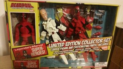 MIB 2016 DEADPOOL 8 inch EMCE Diamond Select retro mego figure Collector set