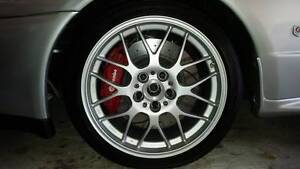 BBS RGR forged 18x8 wheels 5X114.3 PCD - set of 4 Carramar Wanneroo Area Preview