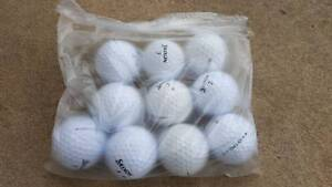 Golf balls for sale, $5 per bag (10pcs) Eastwood Ryde Area Preview