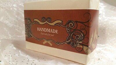 Amazing Wrap Paper Tape Band - Homemade Soap Bar wraps - Horizontal Style 50pcs