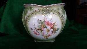 GREEN ANTIQUE POTTERY JARDINIERE Dixons Creek Yarra Ranges Preview