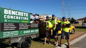 BenCrete Concrete and Constructions Morley Bayswater Area Preview