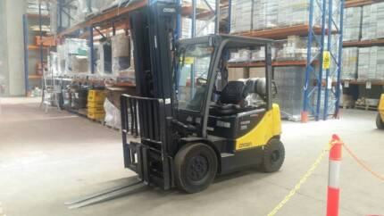 3 x Crown Forklifts CG25E-5 For Sale