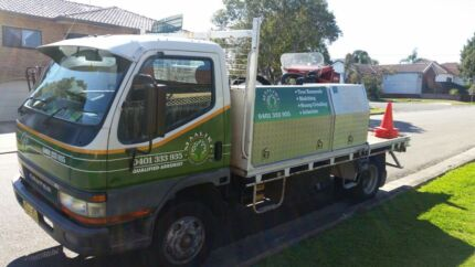 Truck and stump grinder  Condell Park Bankstown Area Preview