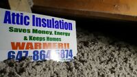 Attic Insulation And Removal Services Free Estimates!!