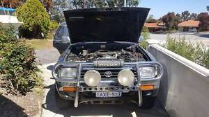 Toyota Hilux Surf 4x4 Camper Conversion with Fridge turbo Diesel Willetton Canning Area Preview