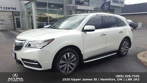 2016 Acura MDX Navigation Package NAVI, TINT, RUNNING BOARDS