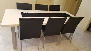 Dinning table with 6 chairs Cannington Canning Area Preview