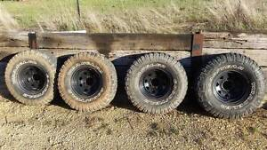 Toyota Land Cruiser Hilux Patrol 4x4 Sunraysia mud tyres Yass Yass Valley Preview