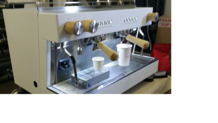 Brand New 2 group FULL SIZE coffee machine the best price!