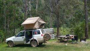 4WD Nissan Terrano 2 Wagon Equipped Roof TENT and camping Wallan Mitchell Area Preview