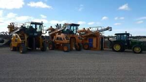 Gregoire, URM and Vinestar Grape Harvesters Tanunda Barossa Area Preview
