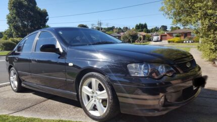 Ford falcon 2003 duel fuel xt with xr6 body kit