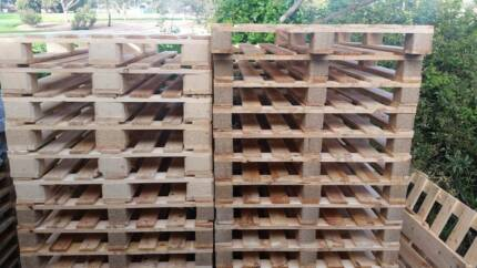 Pine Pallets: New and Near New
