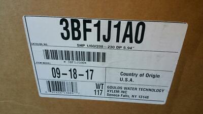 Goulds Water Technology 3bf1j1a0 5 Hp Centrifugal Pump 160-208230v 3656 Pump