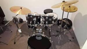 2016 MAPEX PRODIGY DRUM KIT + PAISTE 2002 RIDE + SOUND OFF MUTES Duncraig Joondalup Area Preview