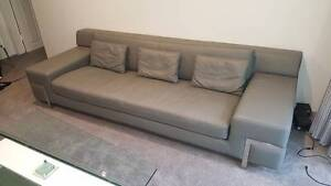 *BRAND NEW* MYCONOS Large 3 seater Leather Lounge Lane Cove Lane Cove Area Preview