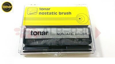 TONAR Nostatic Carbon Fiber Brush 3180 The Best Solution Record & Vinyl
