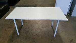 WHITE TABLE - office work study reception dining surface Murarrie Brisbane South East Preview