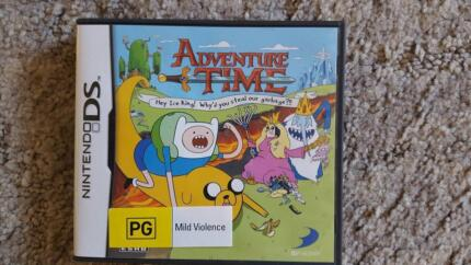 Nintendo DS Game - Adventure Time (PG) Bray Park Pine Rivers Area Preview