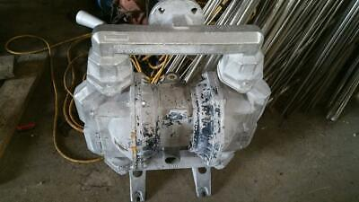 Aro 2 Stainless Diaphragm Pump Pf20a-ass-ssa Used