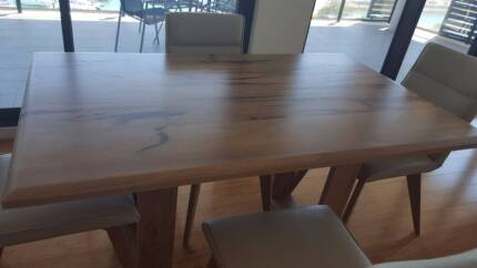 Marri timber Dining Table - brand new