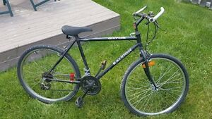 "26 "" black men/ teen bike"