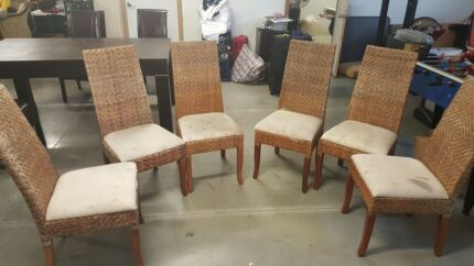 Cane chairs Yagoona Bankstown Area Preview