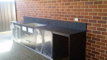 Outdoor Stone BBQ Bench Tops