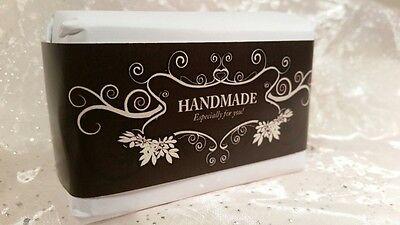 Amazing Wrap Paper Tape Band - Homemade Soap Bar wraps - Horizontal Style 100pcs